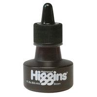 Higgins Waterproof Color Drawing Inks (Set of 3) Color: Brown