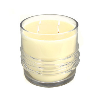 Rojo 16 America Brunei Candle/Clear/Glass/Wax