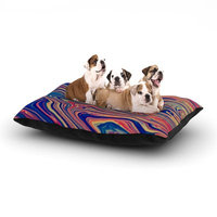 East Urban Home Ingrid Beddoes 'Soap & Water' Dog Pillow with Fleece Cozy Top Size: Small (40