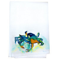 Betsy Drake Interiors Crab Hand Towel