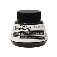 Speedball Art Products 385460 Speedball India Ink 2 Ounces-Super Black