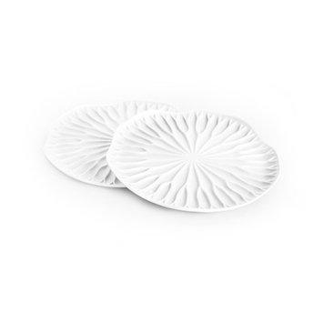Design Ideas Qualy Bai Bua Coaster Color: White