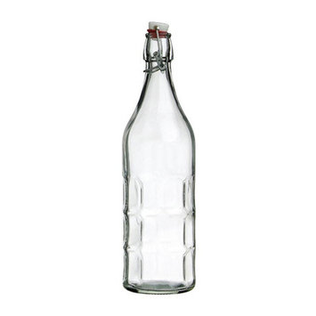 Vandue Corporation Culaccino Swing Top Round 34 oz. Glass Bottle Color: Clear