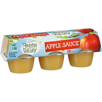 Green Valley Organics Apple Sauce 6-4 oz. Cups