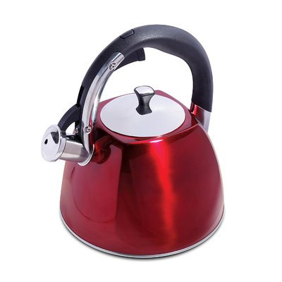Imperial Home 2.5 Qt. Stainless Steel Whistling Stovetop Kettle