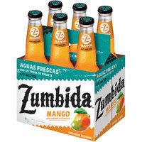 Zumbida Mango Aguas Frescas 6-12 fl. oz. Glass Bottle
