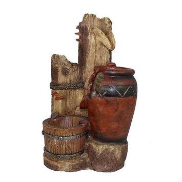 Wmu 15.75 Water Fountain - Giant jar and bucket