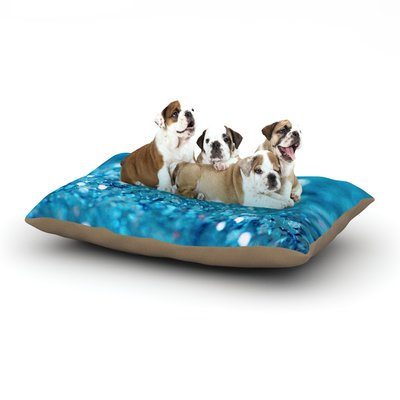 East Urban Home Beth Engel 'Swimming' Dog Pillow with Fleece Cozy Top Size: Large (50