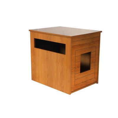 Pethuphup Arena Kitty Litter Box Color: Natural