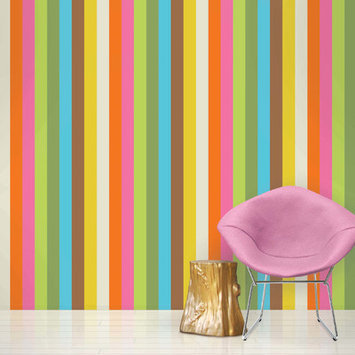 Wall Candy Arts WallCandy Arts French Bull Collection Removable Wallpaper (Izzy) - Full Kit