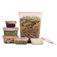 Rebrilliant Luczkiewicz BPA Free 10 Container Food Storage Set with Lids