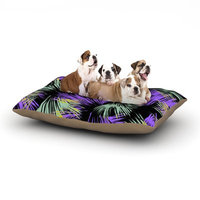 East Urban Home Gabriela Fuente 'Tropical Fun' Dog Pillow with Fleece Cozy Top Size: Small (40