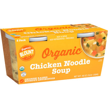 Blount Organic Chicken Noodle Soup 2 ct Sleeve