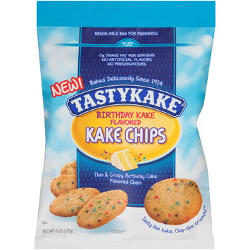 Tasty Kake® Birthday Kake Flavored Kake Chips 6 oz. Bag