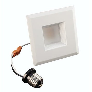 NICOR DQR3-10-120-4K-WH-BF 3 in. Square LED Recessed Downlight in 4000K White