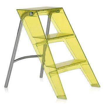 Kartell Upper Step Ladder Color: Citron Yellow