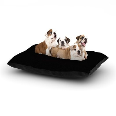 East Urban Home Frederic Levy-Hadida 'Yin Yang Ninja' Dog Pillow with Fleece Cozy Top Size: Small (40