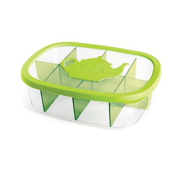 Snips Tea Bag Airtight Holder Food Storage Container