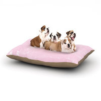 East Urban Home Catherine Holcombe 'Her World' Dog Pillow with Fleece Cozy Top Size: Small (40