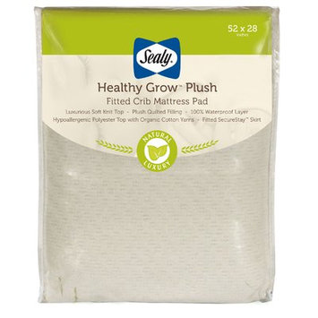 Sealy Healthy Grow Crib Mattress Pad