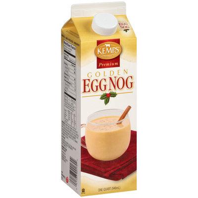 Kemps® Premium Golden Egg Nog 1 qt. Carton