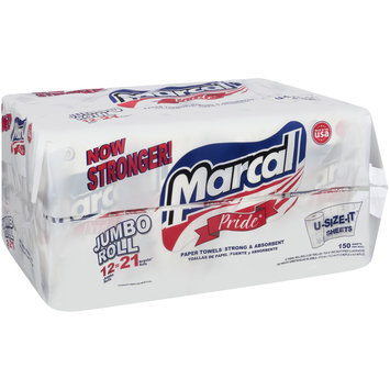 Marcal Pride® Jumbo Roll 150 Sheet Paper Towels 12 ct Pack