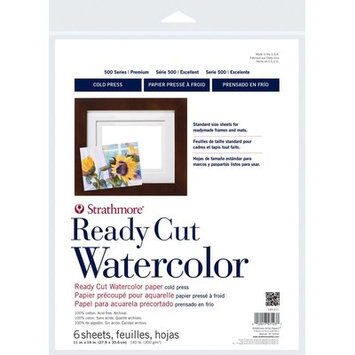 Strathmore Ready Cut W/C Sheet 11x14 140lb Cp