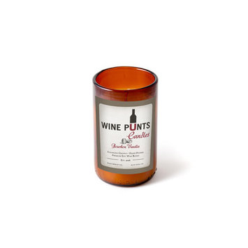 Wine Punts Bourbon Vanilla Scented Jar Candle