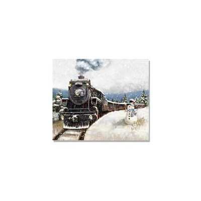 Millwork Eng Dba The Craft Room 'North Pole Express' Lighted Canvas Art