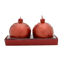 The Holiday Aisle Firework Ball Novelty Candle Size: 3