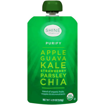 Shine Organics™ Purify Fruit & Vegetable Blend 4.22 oz. Pouch