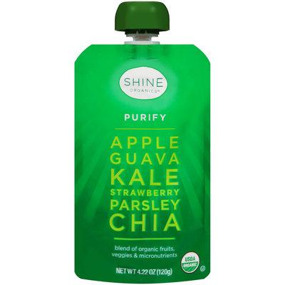 Shine Organics™ Purify Fruit & Vegetable Blend 4.22 oz. Pouch
