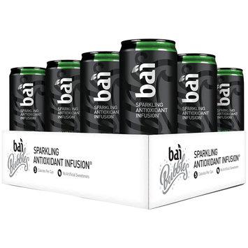 Bai Black Jambi Ginger Ale, Sparkling Antioxidant Infused Beverage, 11.5 Fl Oz Can,  Pack