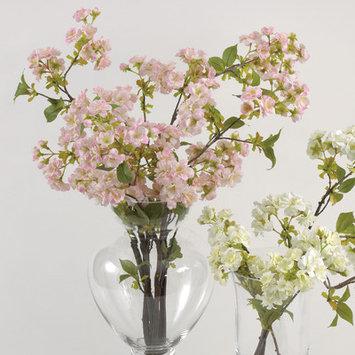 Saro Faux Botanicals Decorative Cherry Blossom Color: Light Pink