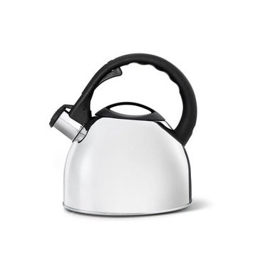 Gefu 2.6-qt. Stainless Steel Stovetop Tea Kettle Color: High Gloss