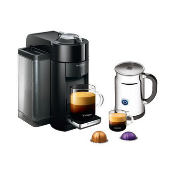 Nespresso Evoluo Coffee & Espresso Maker with Aeroccino + Milk Frother