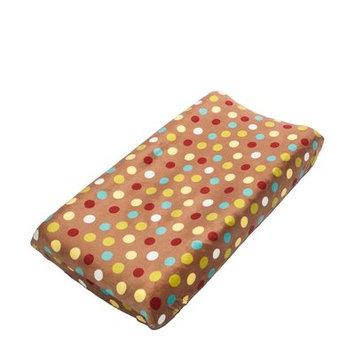 Zoomie Kids Dunnock Polka Dots Changing Pad Cover