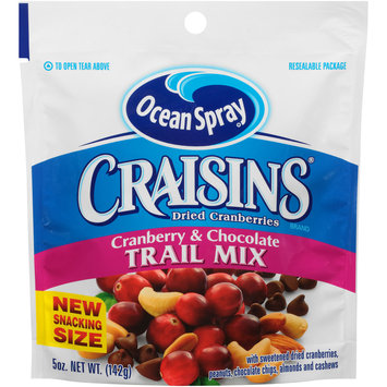 Ocean Spray® Craisins® Cranberry & Chocolate Trail Mix 5 oz. Bag