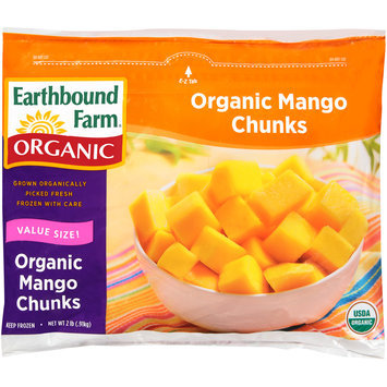 Earthbound Farm® Organic Mango Chunks 2 lb. Bag