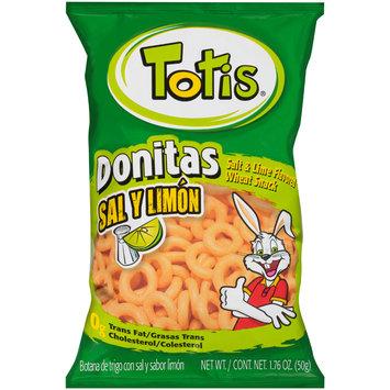 totis® donitas salt & lime flavored wheat snack