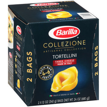 Barilla® Collezione Artisanal Collection Three Cheese Tortellini 2-12 oz. Bags