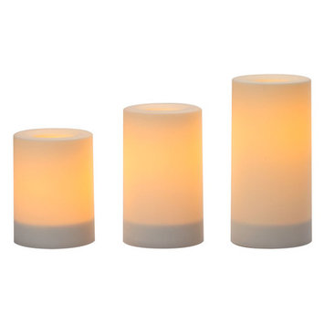 Red Barrel Studio 3 Piece Flameless Candle Set