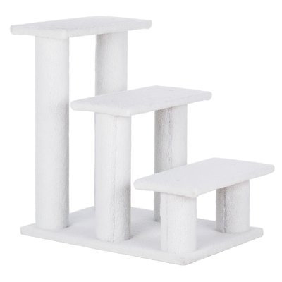 Trixie 3 Step Pet Stair Color: White