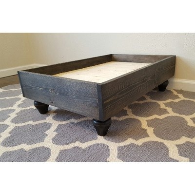 Peacelovewood My Best Friend's Solid Wood Pet Bed Size: Large (36