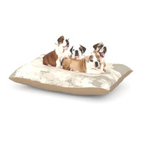 East Urban Home CarolLynn Tice 'Secluded' Dog Pillow with Fleece Cozy Top Size: Large (50