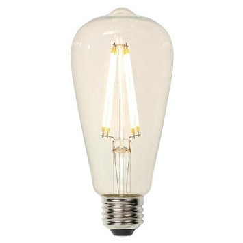 Westinghouse E26 Medium Base LED Vintage Filament Light Bulb Wattage: 60