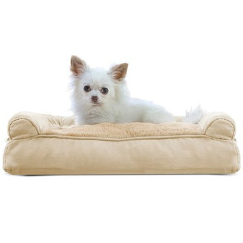 Furhaven Dog Bolster Color: Clay, Size: 7