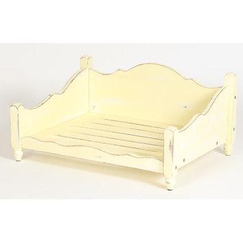 Dogstuffdepot Shabby Elegance Solid Wood Dog Bed Size: Medium (35.75