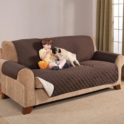 Adnart Home Solutions Reversible Sofa Mat, Chocolate/Tan