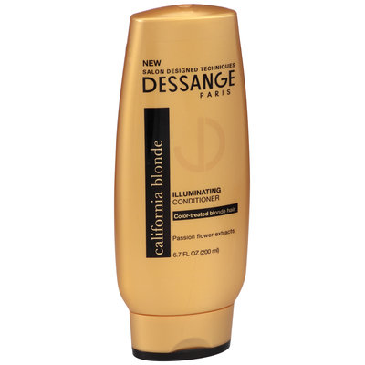 Dessange Paris California Blonde Illuminating Conditioner 6.7 fl. oz. Bottle